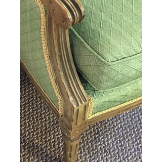 Maison Jansen Stamped Louis XVI Style Bergere Armchairs- A Pair Preview