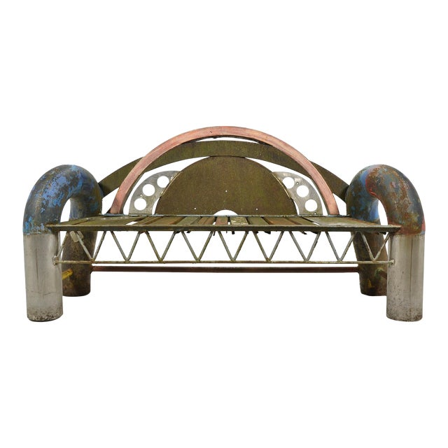 Gordon Chandler Bench Sculpture For Sale