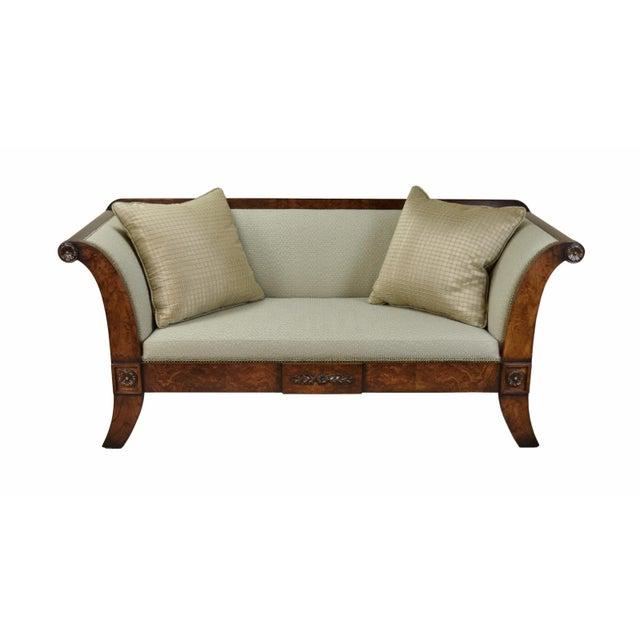 2000's William Switzer Classic Austrian Biedermeier Style Sofa For Sale - Image 10 of 10