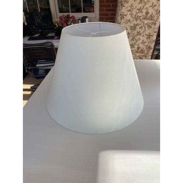 Modern Christopher Spitzmiller Lamp With Shade For Sale - Image 3 of 4