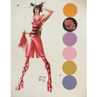 Contemporary Jean Paul Gaultier & Madonnna Print