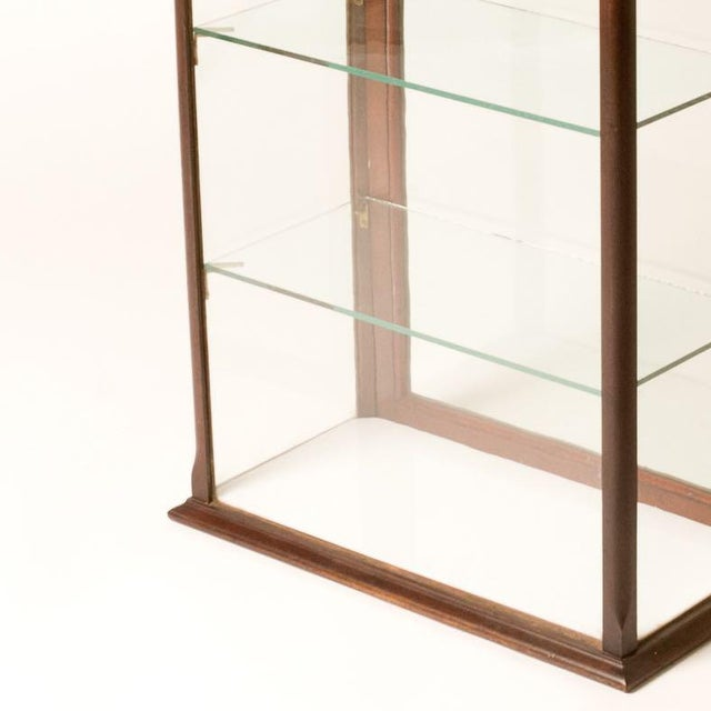 Late 19th Century Antique English Table Top Display Cabinet For Sale - Image 4 of 6