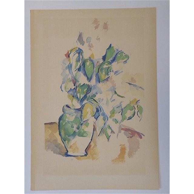 Modern Vintage Paul Cezanne Screenprint For Sale - Image 3 of 3