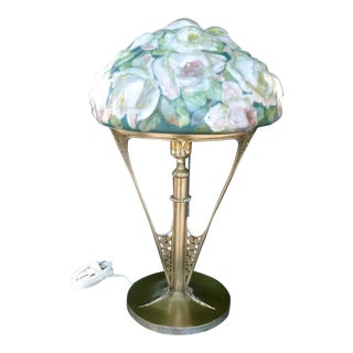 Fab Authentic Pairpoint Puffy Lamp For Sale