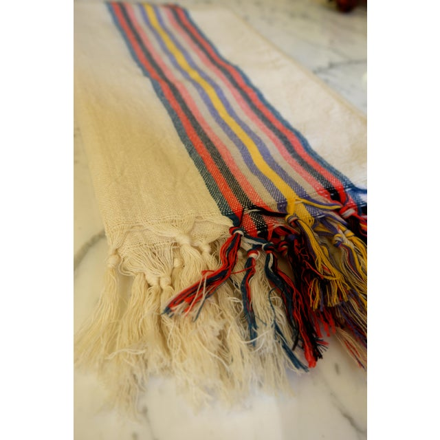 Modern Turkish Hand Made Towel With Natural/Organic Cotton For Sale - Image 3 of 8
