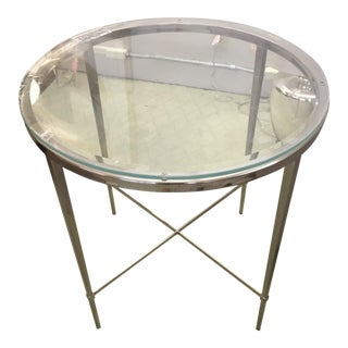 Woodbridge Furniture Chelsea Side Table For Sale