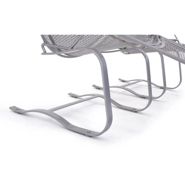John Salterini High Back Patio Lounge Chairs With Footrests - a Pair For Sale - Image 10 of 11