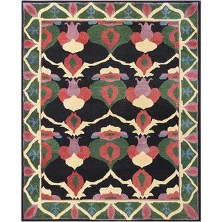 Mansour Fine Handmade Tibetan Rug - 8′ × 9′