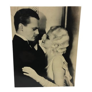 Vintage James Cagney & Jean Harlow in Public Enemy Photo For Sale