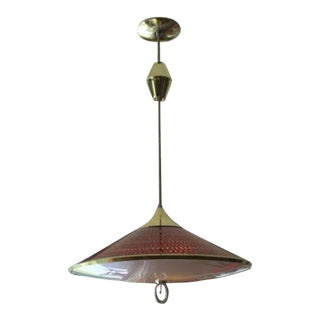 Mid-Century Moe Pendant Lamp Fixture Chandelier For Sale