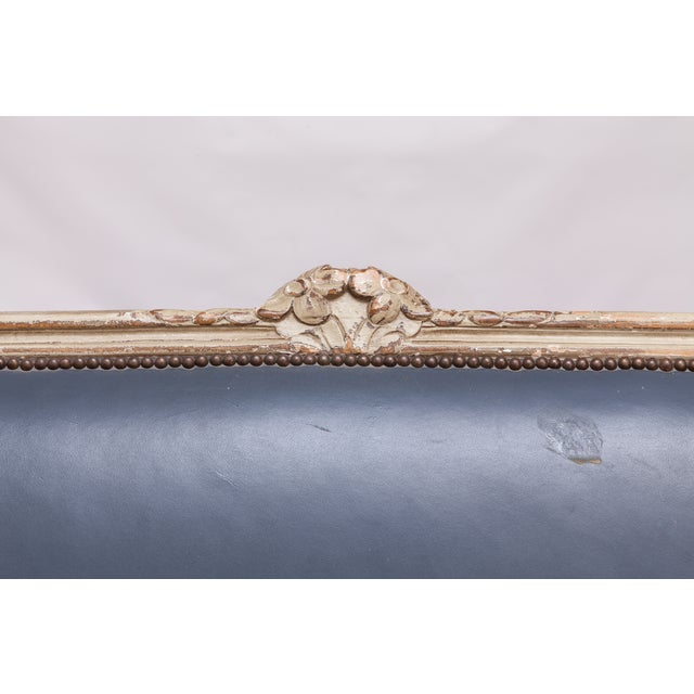 French Louis XV Painted Canapé for William Gaylord For Sale - Image 5 of 10