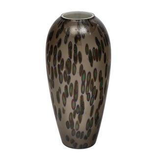 """Vintage Murano Glass """"Murrine"""" Vase For Sale"""