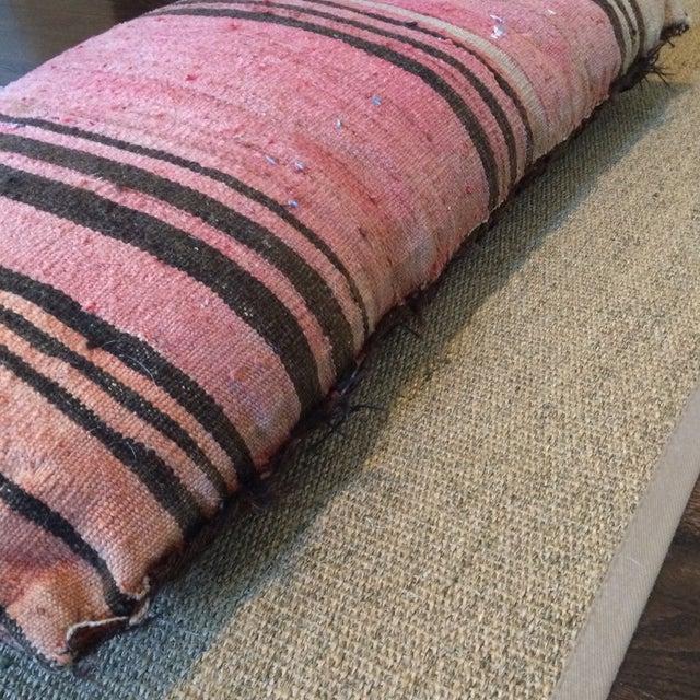 Vintage Rug Remnant Floor Pillow - Image 10 of 10