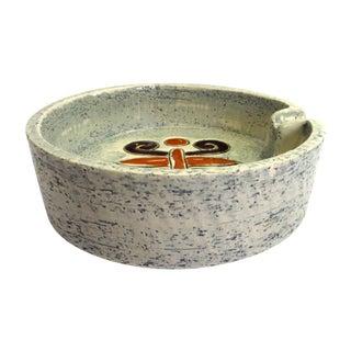 Sgraffito Ashtray from Italy, Bitossi Ceramica