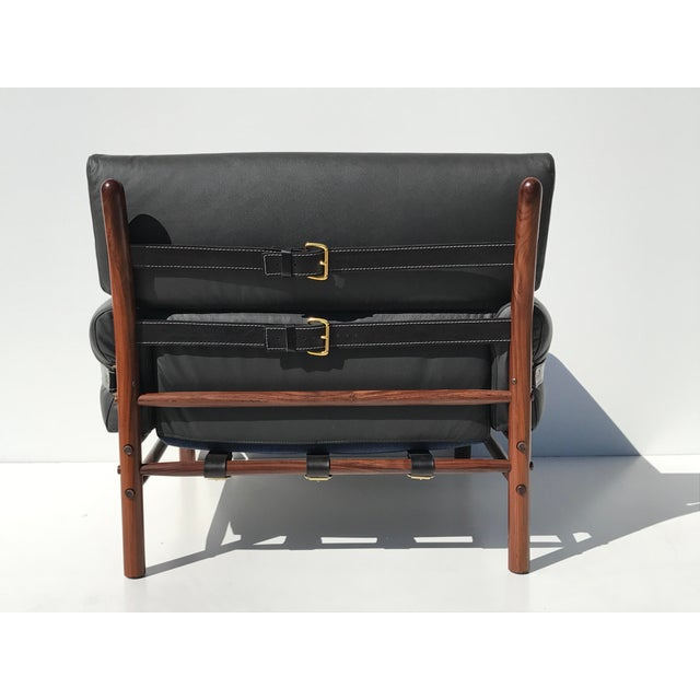 1960s Pair of Arne Norell Kontiki Safari Lounge Chairs For Sale - Image 5 of 10