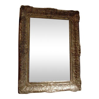 19th Century Giltwood Frame With New Mirror For Sale