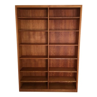 Danish Teak 14 Shelf Bookcase