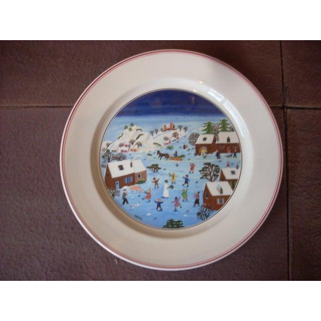Christmas Plate Set.Villeroy Boch Christmas Dinner Plates Set Of 10