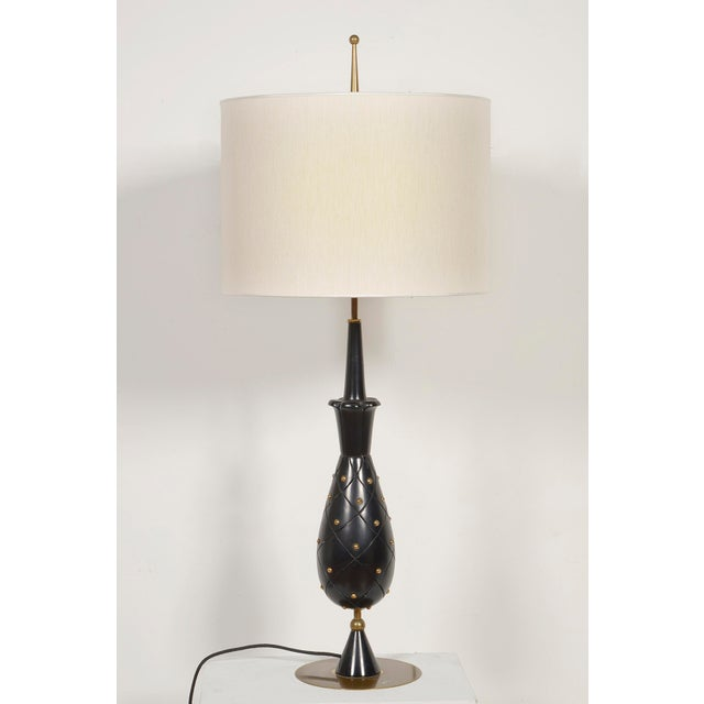 Metal Stilnovo Table Lamp For Sale - Image 7 of 8