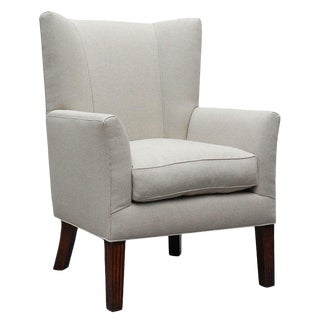 """Ellsworth"" Wing Chair by Lee Stanton For Sale"