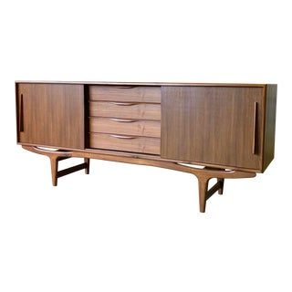 Mid Century Modern Styled Credenza Media Stand For Sale