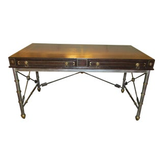 Maitland Smith Neoclassical Style Desk or Writing Table For Sale