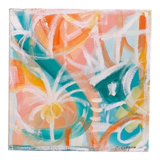 "Abstract Christina Longoria ""Bahama Mama"" Painting For Sale"