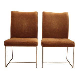 Milo Baughman for Thayer Coggin Dining Chairs - A Pair