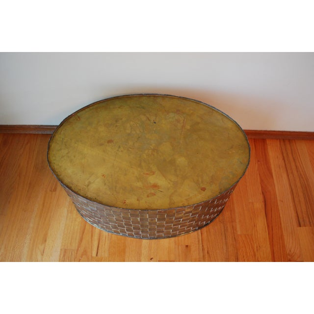 Extra Large Brass Planter by Chapman - Image 6 of 11