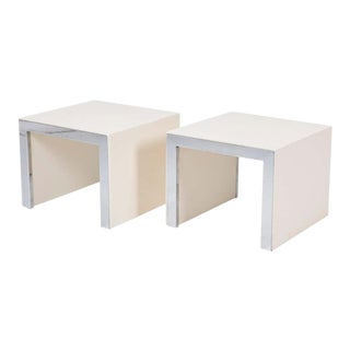 Tommaso Barbi Side Tables - a Pair For Sale