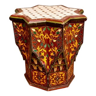 Spanish Tile Top Occasional Table For Sale