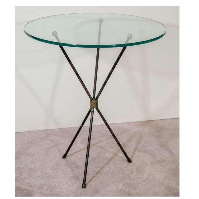 Vintage Italian Tripod Side Table - Image 2 of 7