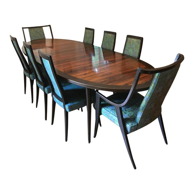 Harvey Probber Dining Table & Chairs For Sale