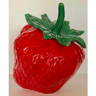 Vintage Ceramic Strawberry Cookie Jars Preview
