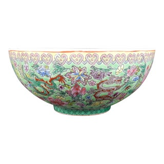 Chinese Egg Shell Porcelain Bowl For Sale