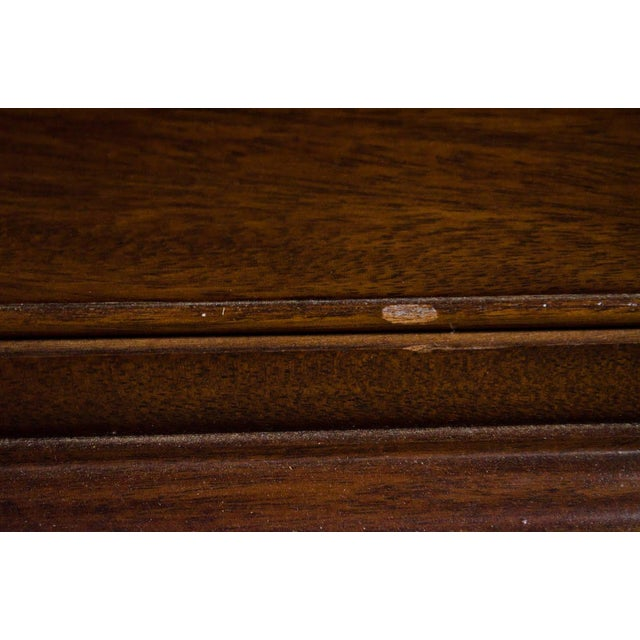 Brown 1970s Vintage Craftique Traditional Highboy Chest For Sale - Image 8 of 13