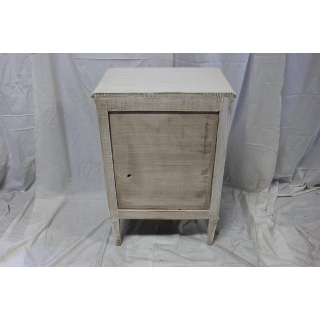 Contemporary 20th Century Swedish Gustavian 3-Drawer Nightstands - a Pair For Sale - Image 3 of 9