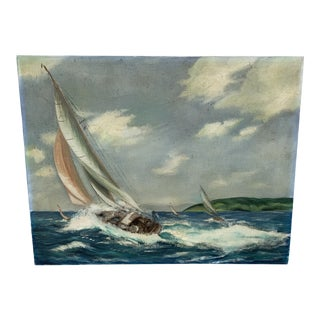 Racing Sail Boats Painting For Sale