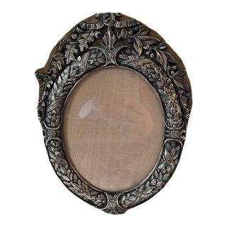 Antique M&ls Sterling Oval Frame For Sale