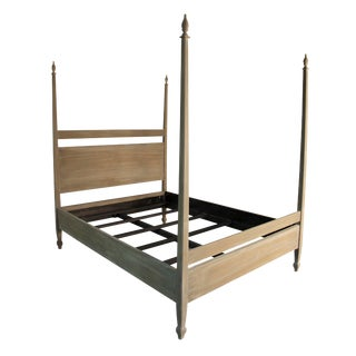 Venice Bed, Eastern King, Weathered For Sale