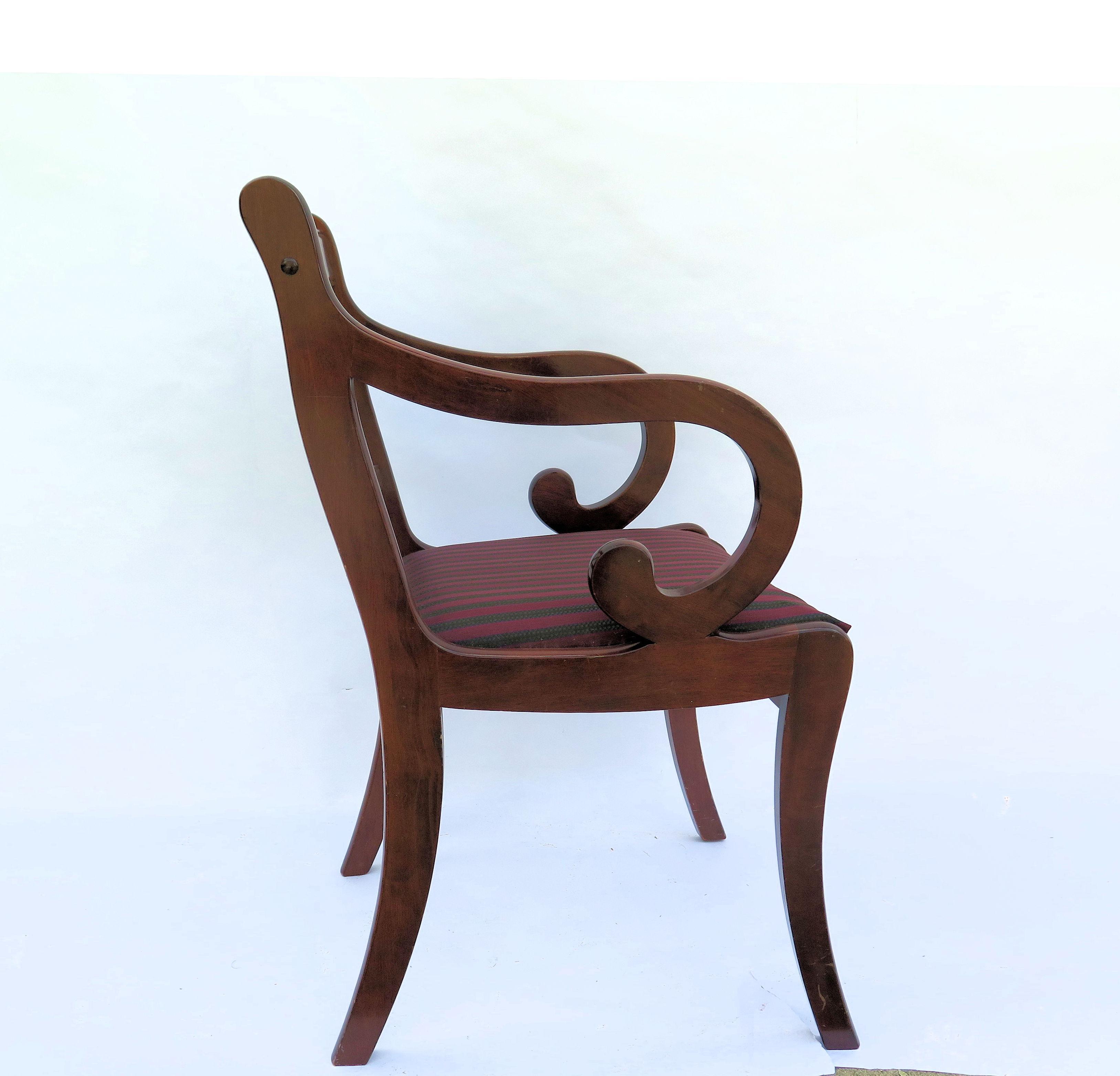 Single Mahogany Chair   Image 5 ...