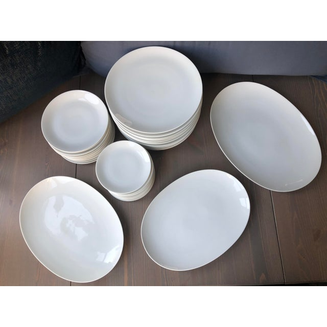 "Continental China designed by Raymond Loewy for Rosenthal. Circa 1957-1964. Includes: 12 - 10.5"" dinner plates 12 - 7.5""..."