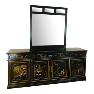 Jasper Furniture Chinoiserie Credenza For Sale