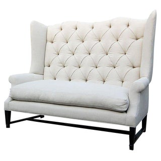 Wing Back Sofa For Sale