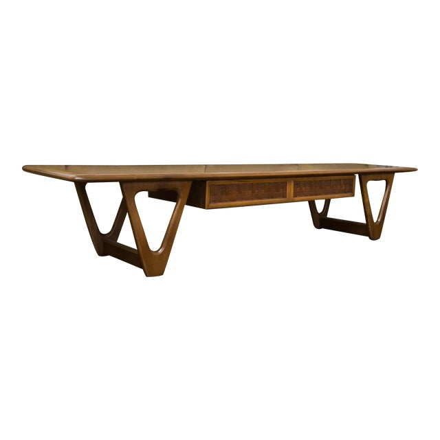 Lane Perception Coffee Table in Walnut - Image 1 of 11