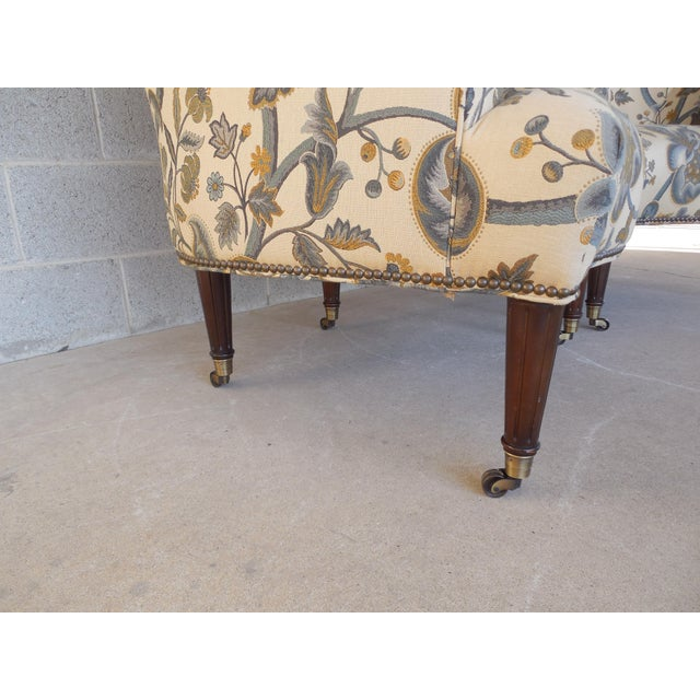 Kravet Furniture Regency Style Accent Club Chairs - A Pair - Image 7 of 11