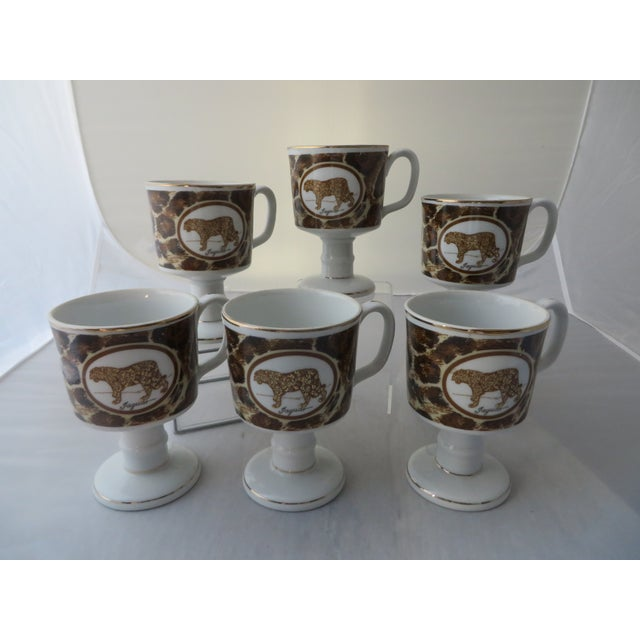 Mann Imports Jaguar Mugs - Set of 6 - Image 2 of 7