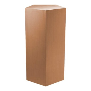 Brushed Copper Pedestal Column - S | Eichholtz Meissner For Sale