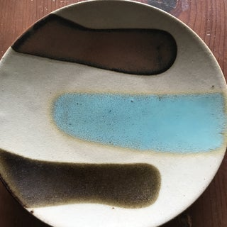 Vintage Japanese Mashiko Art Pottery Salad Plate 1970's Preview