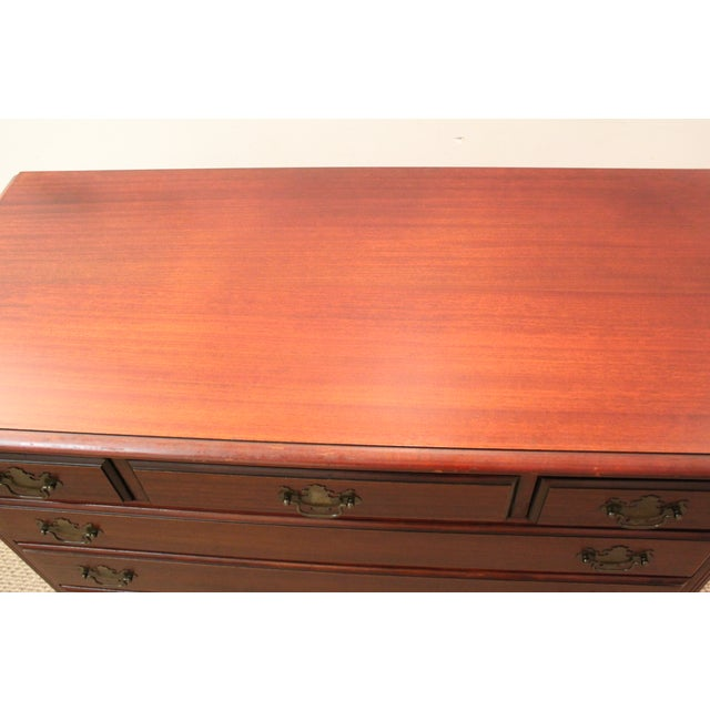 Traditional Mahogany Chippendale Kling Dresser - Image 5 of 5
